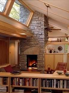 corner fireplace design ideas