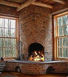More Standout Corner Fireplace Designs Bricks Stones
