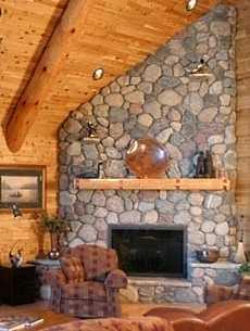 Faux Corner Fireplace