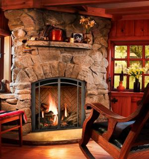 The Corner Gas Fireplace A Great Way To Maximize Your