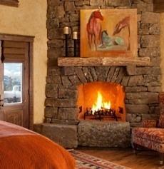 corner stone fireplace designs