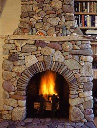 Stones Fireplaces country stone fireplaces . . . country rock meets rolling stones!