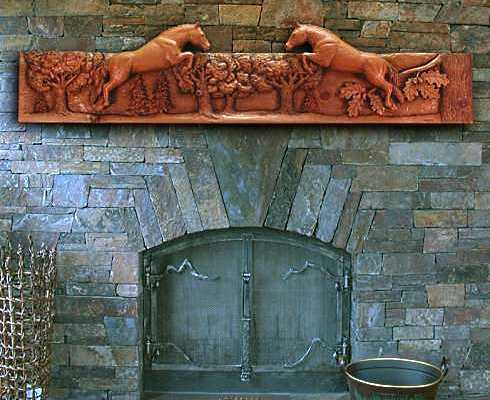 Stone fireplace mantel ideas inspiring and enlightening for Ramsey fireplace
