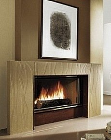 Contemporary Fireplace Mantle Designs . . . Shape Shifters!