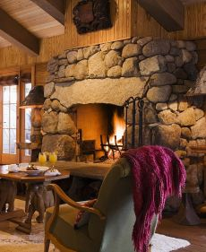 fireplace stone ideas
