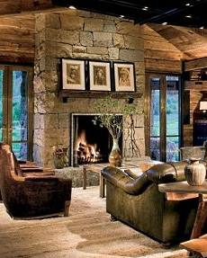 fireplace stone designs