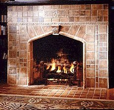 fireplace tile designs
