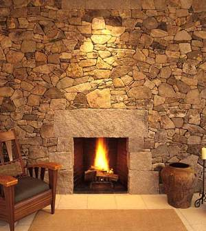 lew french fireplace