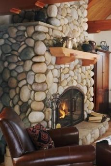 Vibrant Stone Fireplace Hearth Designs A Rainbow Of