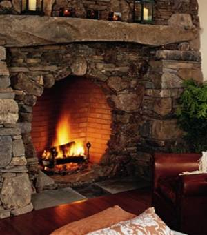 hobbit fireplace