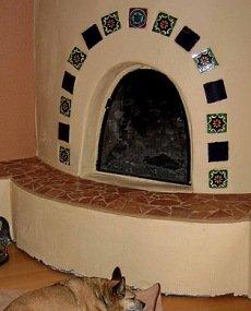 how to build a kiva fireplace