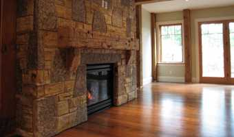 manufactured stone fireplaces
