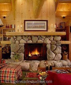 Pictures Of Stone Fireplaces Handcrafted Hearths