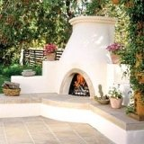spanish and kiva fireplaces