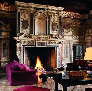 Romancing the stone fireplace design a timeless love affair for Timeless fireplace designs