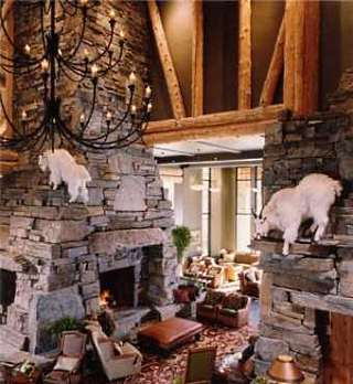 stone fireplace designs