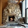 stone fireplace images