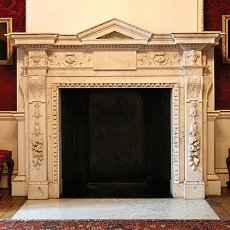 stone fireplace mantle