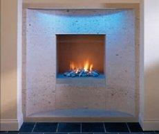 stone fireplace photos