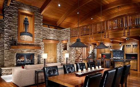Standout Stone Fireplaces Pictures REAL STANDOUTS