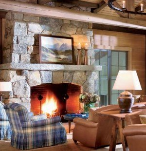stone fireplace pictures