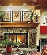wood mantels and shelves